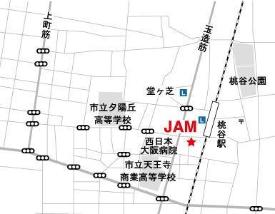 古着屋JAM地図